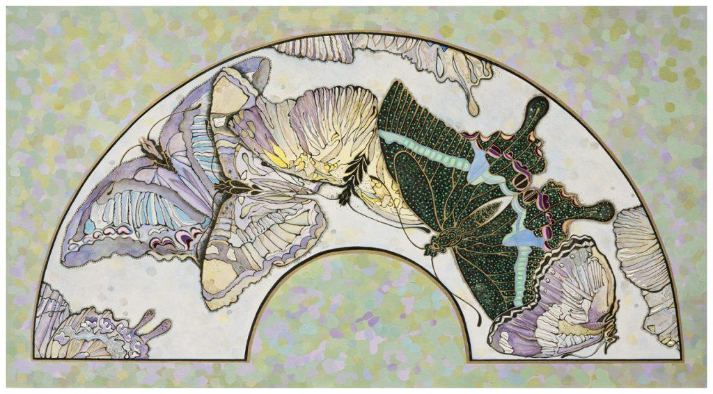 vlindersklein